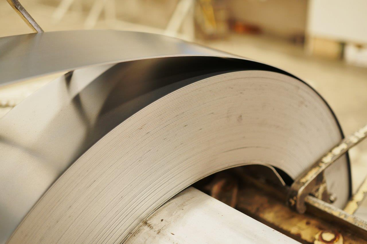 Production of hot rolled steel