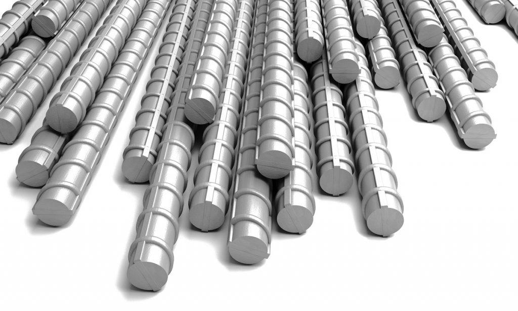 photo of stack of rebars