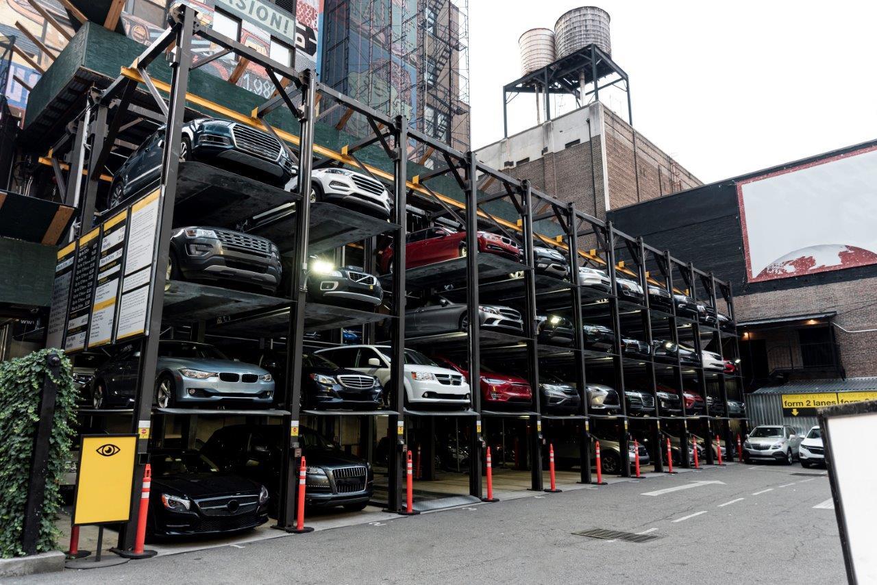 Parking flooring
