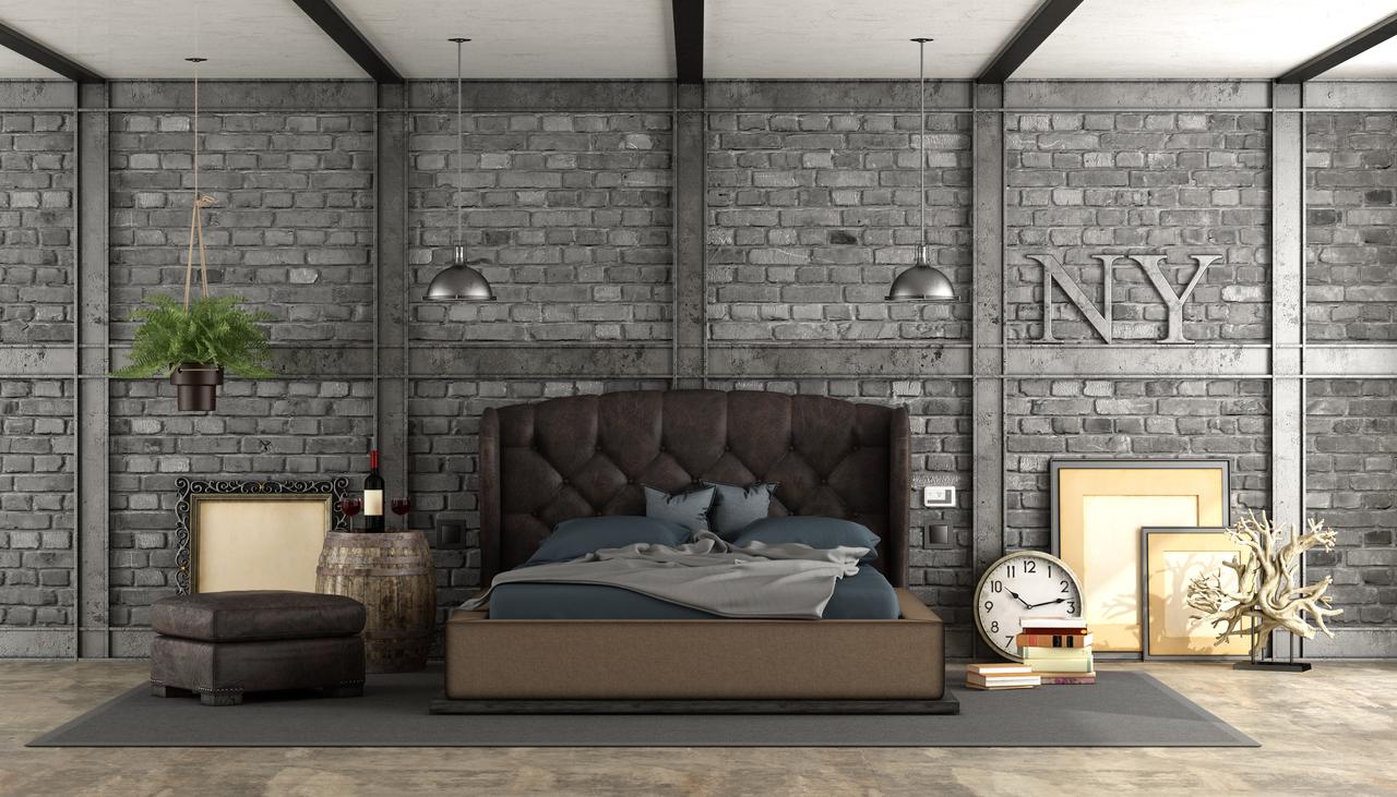 An Urban Industrial Bedroom