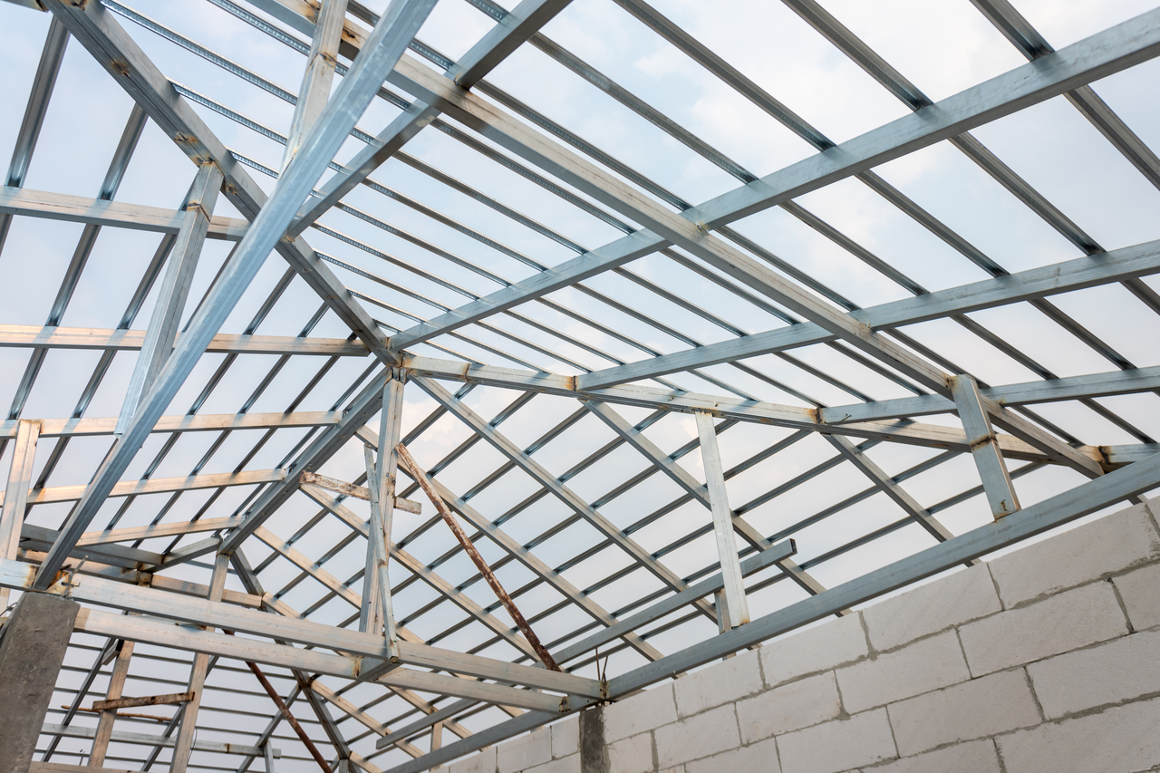 Steel Primary Frame Roofing